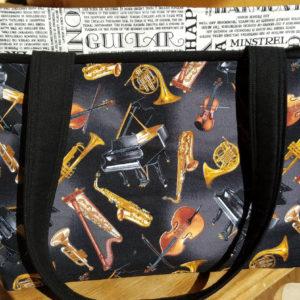 beautiful music handbag