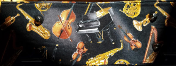 beautiful music handbag