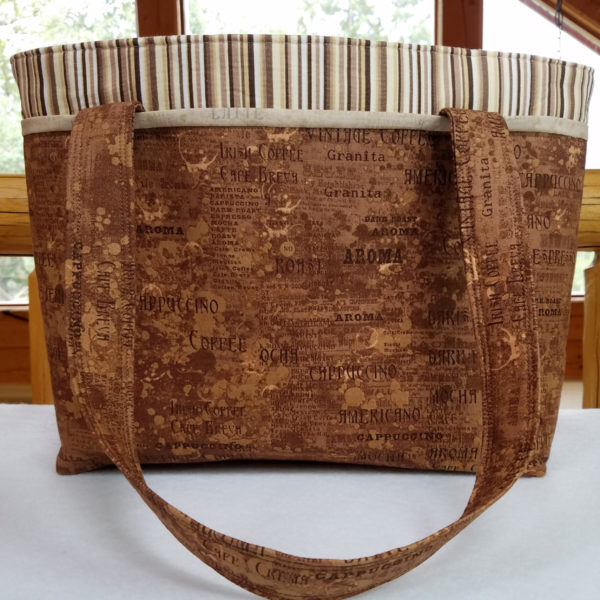 Java Roast handbag, made in the USA