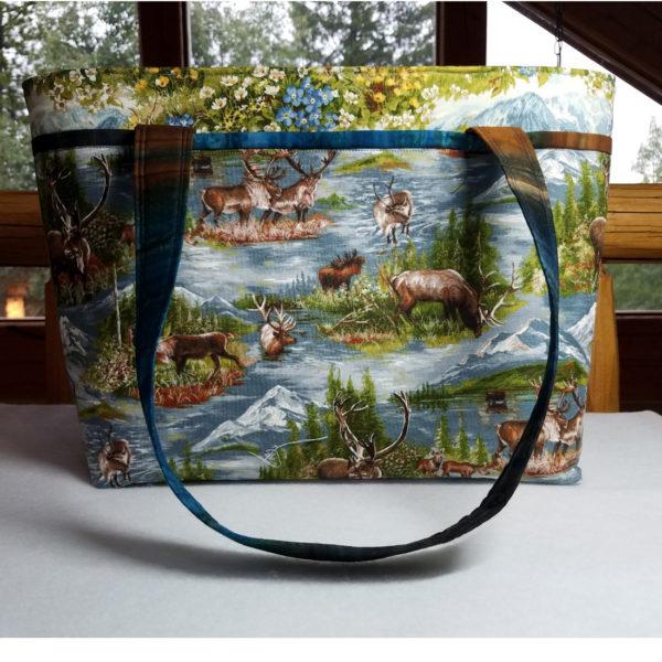 Wild Blue Yonder handbag