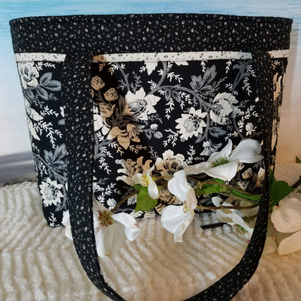 purses by Grace, black and white
