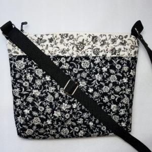 Crossbody bags by Grace, black and white