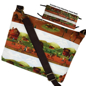 1812 Farm Life Crossbody, free mask