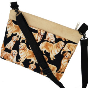 Crossbody Golden Retrievers