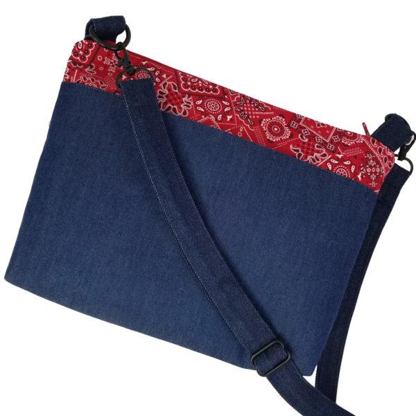 Denim & Bandana Bag