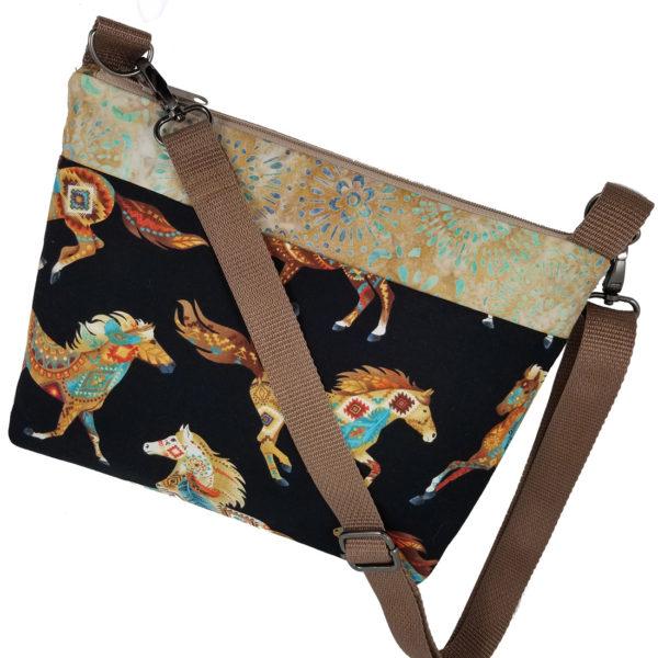Southwest Horses Crossbody Bag
