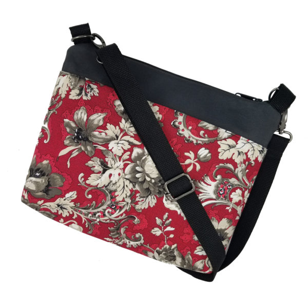 Garnet & Pewter Crossbody bag
