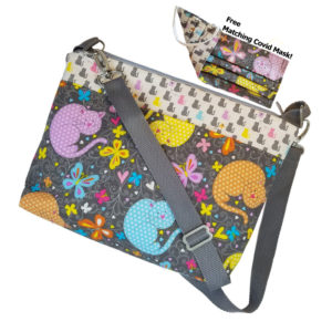 Here Kitty Kitty Crossbody