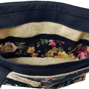 Amanda Shoulder Bag, open, top down view
