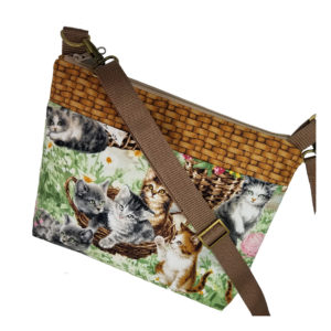 Basket of Kittens Crossbody