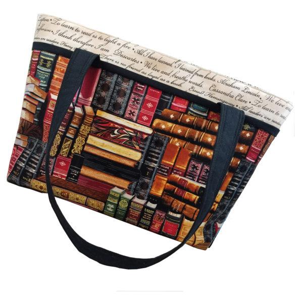 Famous Books Shoulder Bag