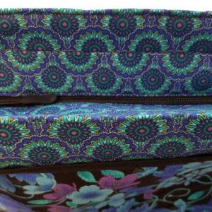 Mosaic Plume Shoulder Bag