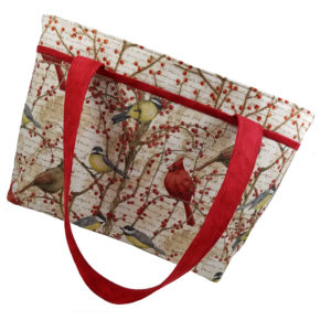 Winter Birds Shoulder Bag
