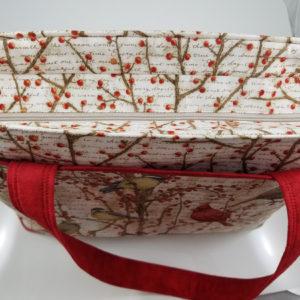 Winter Birds Shoulder Bag