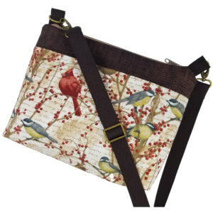 Winter Birds Crossbody