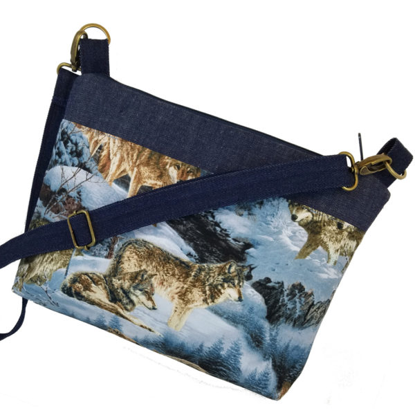 Wolves Crossbody Purse
