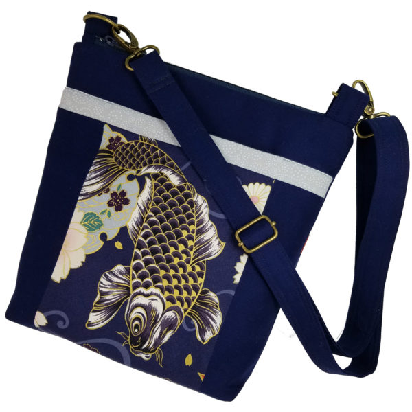 Koi crossbody purse handbag