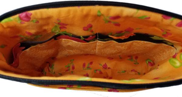 Paradise designer handbag purse inside