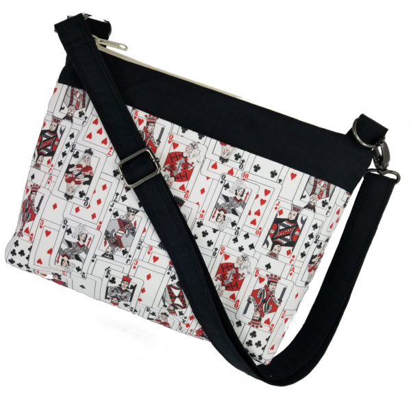 Bridge cards crossbody