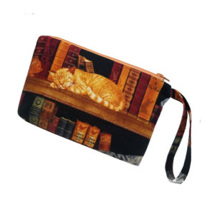 Cat & Books Anything Bag