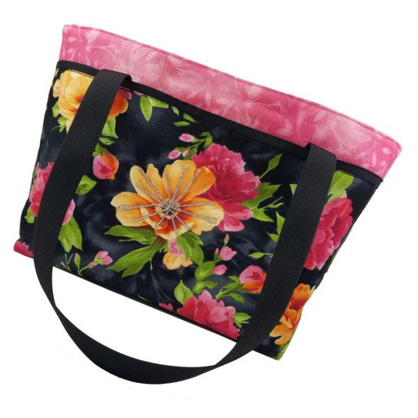Paradise shoulder bag side 1