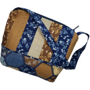Bermuda shoulder bag Navy