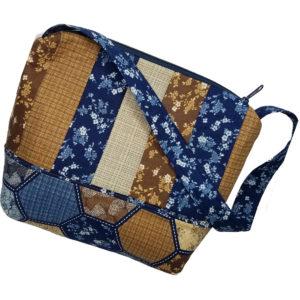 Bermuda shoulder bag Navy