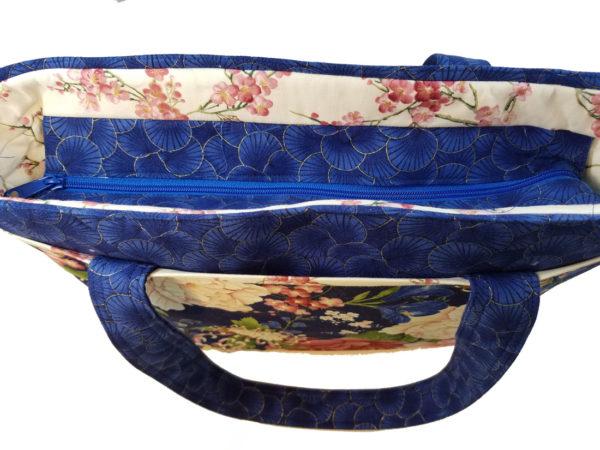 Sakura Shoulder bag top view