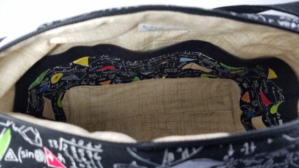 Algebra Shoulder bag inside view