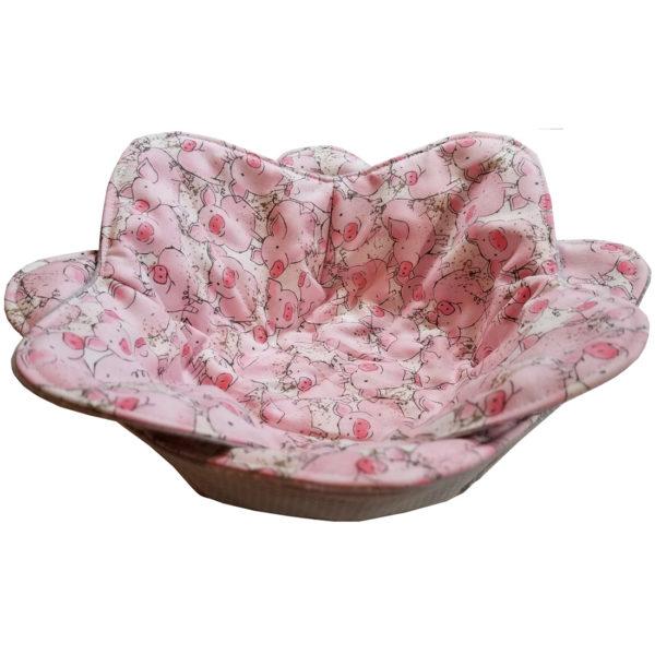 Piggy microwave bowl cozy