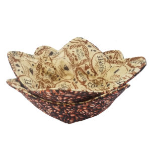 Pure Roast coffee microwave bowl cozy