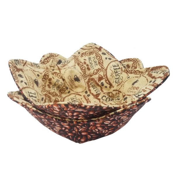 Pure Roast coffee microwave bowl cozy