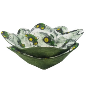 Tractor Microwave Bowl; Cozy