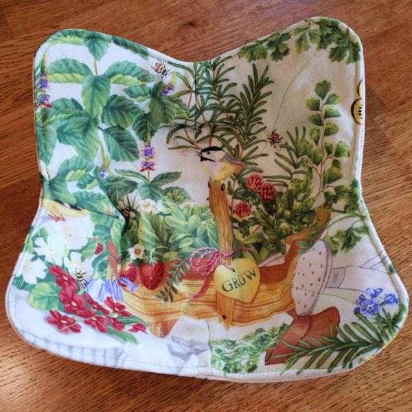 Garden Microwave Bowl Cozy