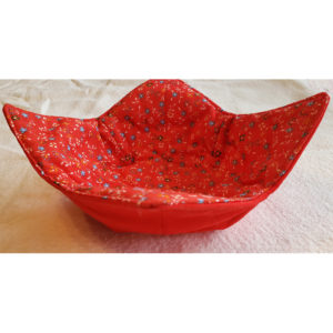 RED MICROWAVE BOWL COZY