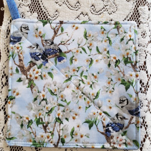Potholder Bluebirds