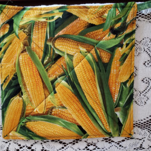 Potholder Corn