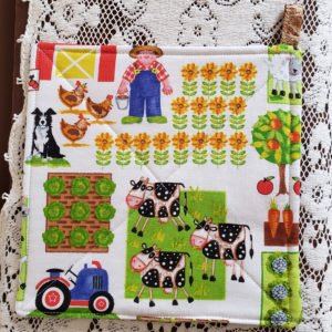 Potholder Farm Straw