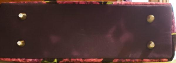 Lilac Garden Shoulder Bag bottom