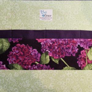 Lilac Garden lining