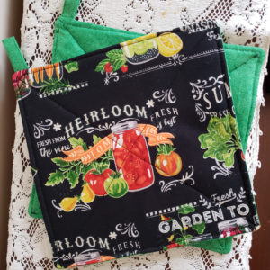 Potholders Veggies