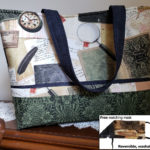 Longfellow Handbag with Matching Mask