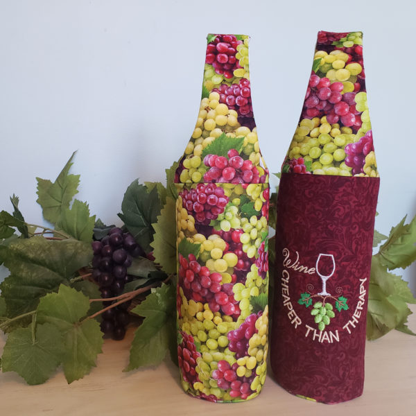 Padded Wine Totes