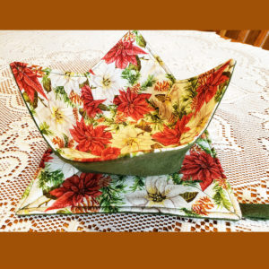 Kitchen Set Microwave Bowl matching Potholder