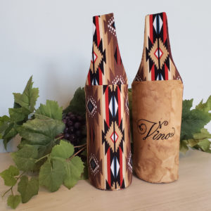 Padded Wine Tote Vino