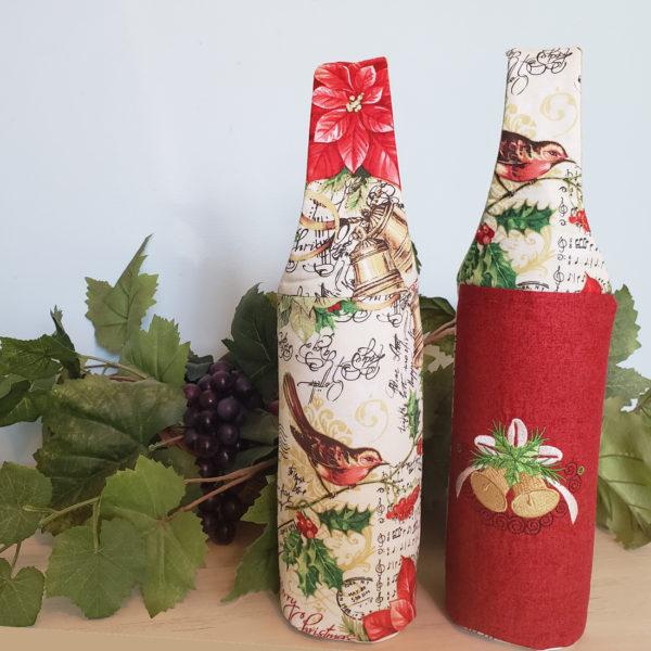 Christmas Wine Tote 2 Bells