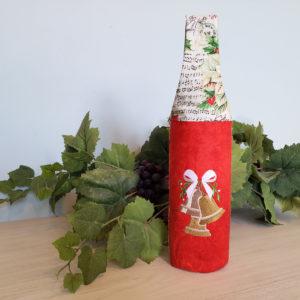 Christmas Wine Tote 3 Bells