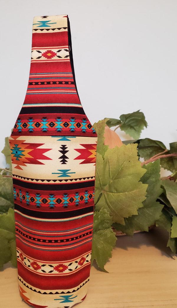 "Wine Bottle Tote ""Congrats"""