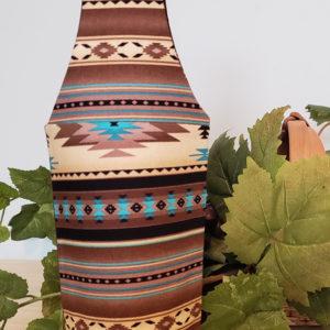 "Wine Bottle Tote ""Congrats""-backside"