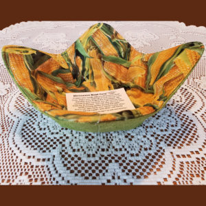 Corn & Green Microwave Cozy